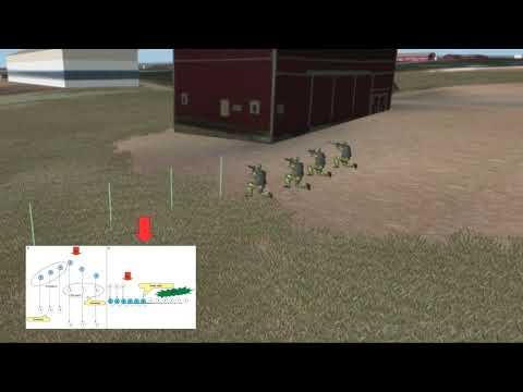 Artificial Intelligence - Infantry Squad Behaviors   BISim