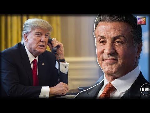 Trump Considering Historic Pardon After Sylvester Stallone Made Desperate Phone Call To Him