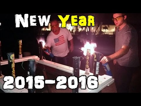 My New Years Fireworks Show 20152016