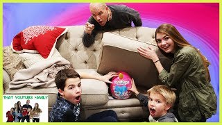 Big Brother HiDE and SEEK Family Friendly Rainbocorns Game / That YouTub3 Family I Family Channel