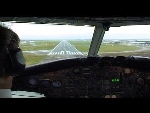 BAC 1-11 Cockpit Last Flight - Plato Video