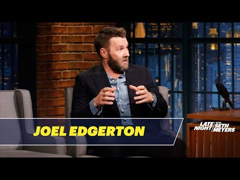 Joel Edgerton Explains His Fashion Faux Pas