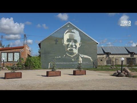 Wizna - miasteczko murali