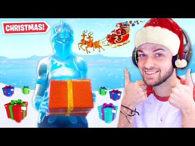 CHRISTMAS DAY in Fortnite: Battle Royale!