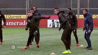 Van Persie trains with Feyenoord