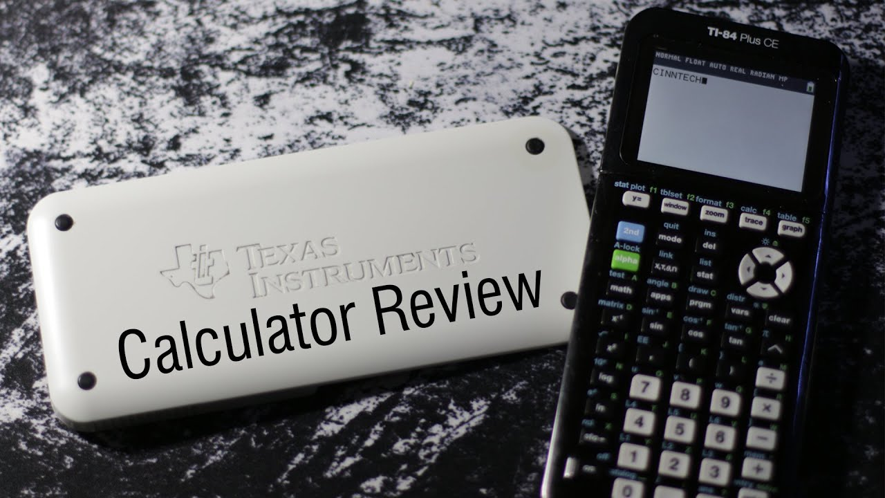 Ti 84 plus ce graphing calculator review youtube urtaz Images