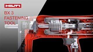 INTRODUCING the Hilti BX 3 battery actuated fastening tool - only one can be first!