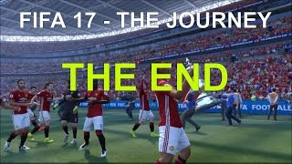 Fifa 17 | the journey walkthrough the end | best ending ever? hattrick and final fa cup!