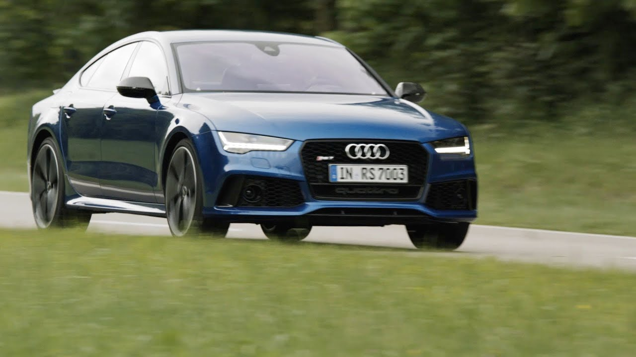 Audi RS7 Sportback (2015) Test Drive [YOUCAR] - YouTube