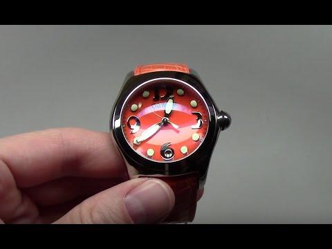 Corum Bubble Orange Men's Watch Review Ref: 163.150.20