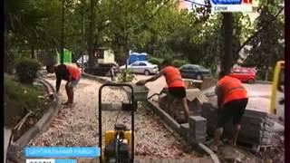 Асфальтирование дорог(http://vesti-sochi.tv., 2013-07-31T13:42:38.000Z)