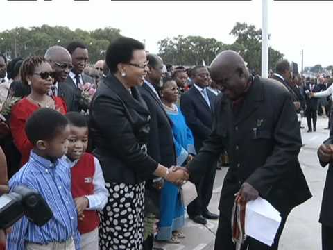 Excerpts from President Jacob Zuma's visit to People's Republic of Mozambique