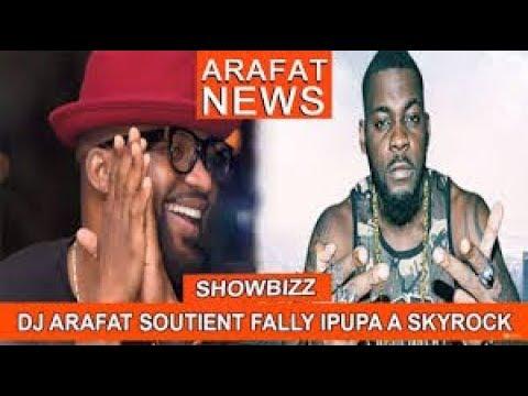 DJ Arafat  sur skyrock  ft niska ft fally ipupa ft maitre gims 2017