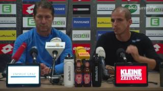 SK Sturm: Mediabriefing vor FK Austria Wien (13. Runde 2016/17)