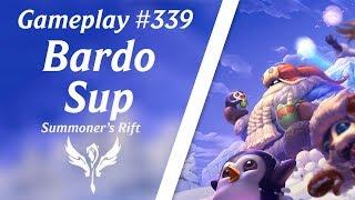 LOL Gameplay - Bardo Suporte #48 | 4K 60fps