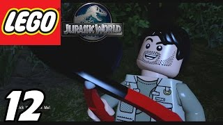 "LEGO Jurassic World - Part 12 ""Camp Sabotage!"" (Gameplay Walkthrough 1080p)"