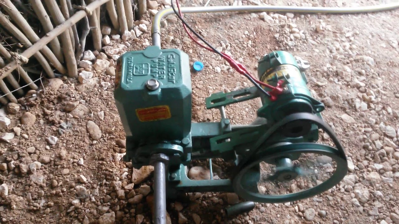 Solar dc water pump `12 v dc motor and water pump complete