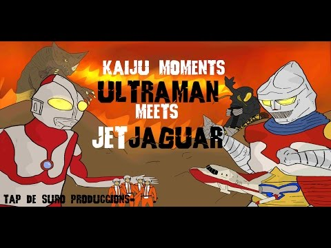 Ultraman meets Jet Jaguar   KAIJU MOMENTS # 08