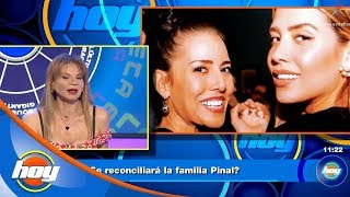 ¿Se reconciliará la familia Pinal? Mhoni Vidente responde | Hoy