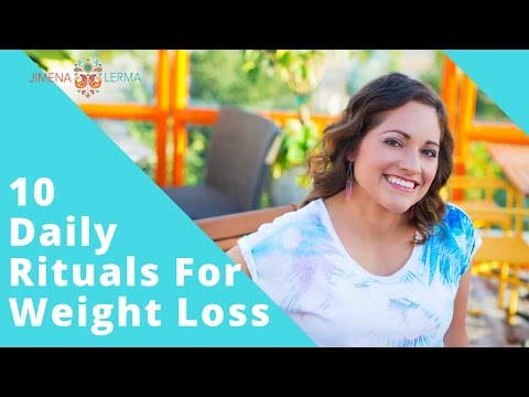10 Days of Weight Loss Rituals- Weight Loss Challenge Day#1