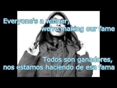 paper planes M.I.A. letra español inglés.