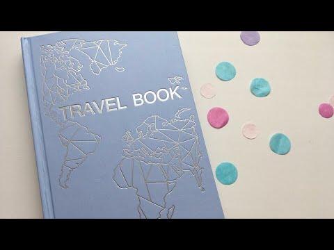 Шикарный украинский блокнот планнер Travel Book - самый подробный обзор