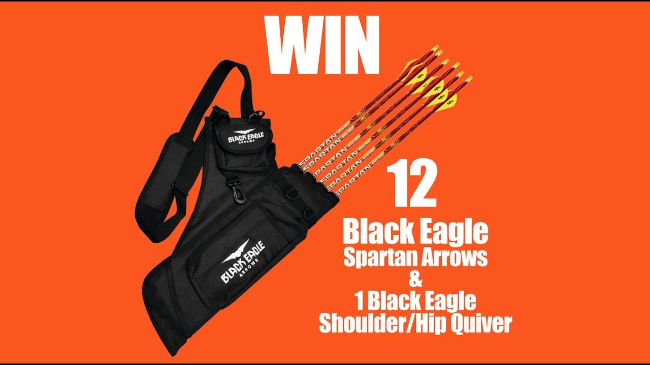 Black Eagle Hip Quiver
