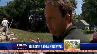 Building A Retaining Wall Or Steps