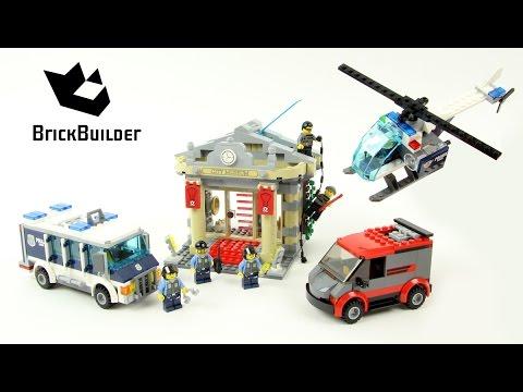 Lego City 60008 Museum Break-in - Lego Speed Build