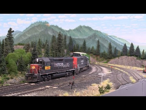 A Great Model Railroad Layout of Mike McGinley's freelanced HO Scale Layout.