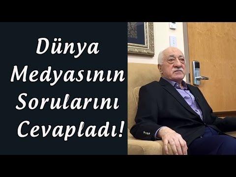 Fethullah Gülen Röportaj | Dünya Medyasının Sorularını Cevapladı!