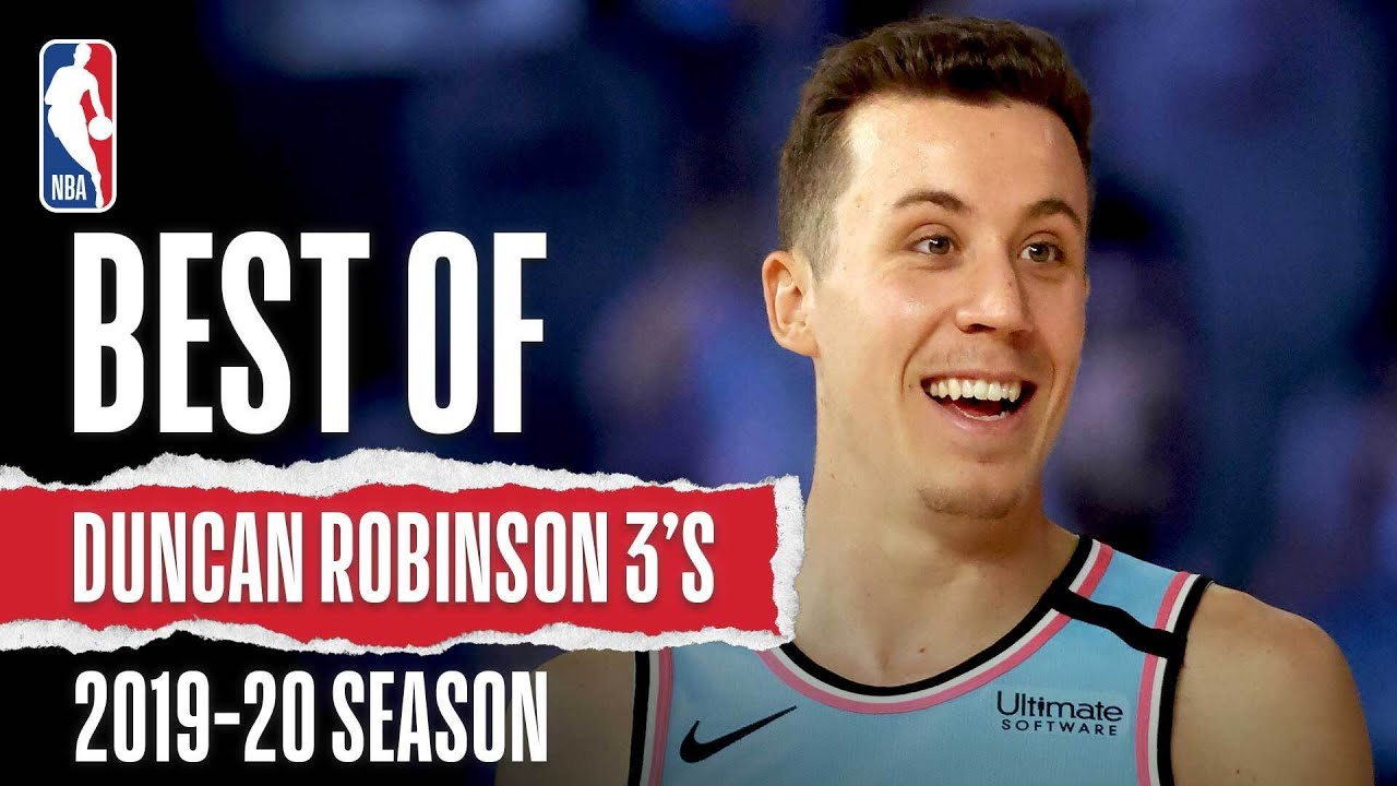 Duncan Robinson's Best 3-Pointers From The 2019-20 Season
