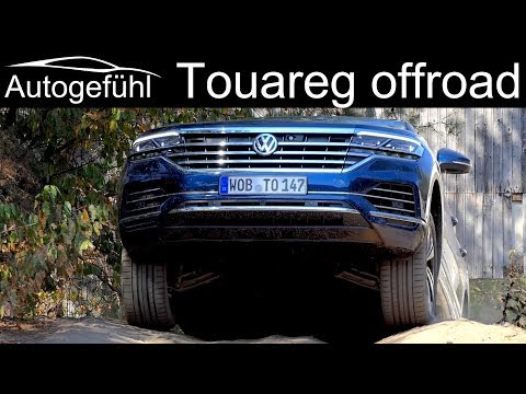 Does The All-new VW Touareg 3 Master The Offroad Course? 2019 REVIEW With Grizzlys Wolfsburg