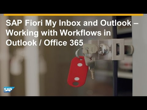 Approving SAP Workflows from Outlook   End to End Walkthrough