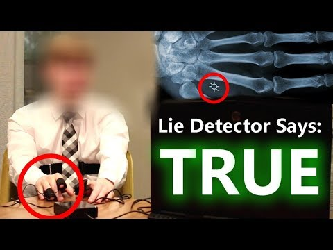 Time Traveler From 2045 LIE DETECTOR Test