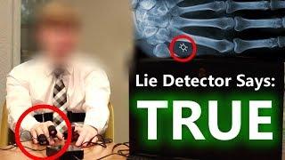 Time Traveler From 2045 LIE DETECTOR Test