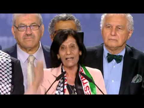 كلمة ربيحة ذياب عضو البرلمان الفلسطيني ، وزيرة المرأة السابقة