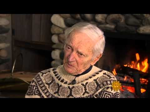 100-year-old skier at peak performance