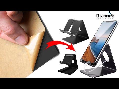 Best Mobile Holder for Bed and Table || Mobile Holder Homemade || Dwraps Custom Shop
