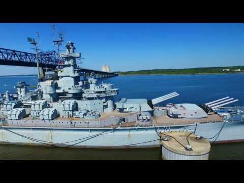 Battle Ship Cove and The USS Massachusetts