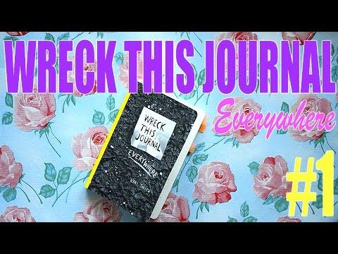Wreck This Journal everywhere #1 / Уничтожь меня #1