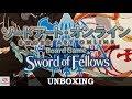 Sword Art Online: Sword of Fellows (Unboxing)