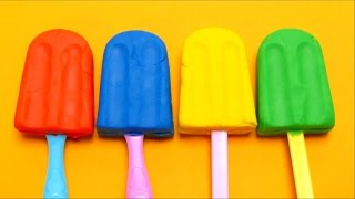 Play-doh Diy Ice Cream Popsicles With Surprise Toys