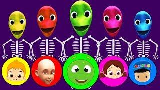 Niloya, Tosbik, Keloğlan, Mete ve Pepee Dame tu Cosita Yeşil Uzaylı Dansı