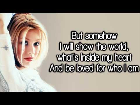Christina Aguilera - Reflection (Lyrics) HD