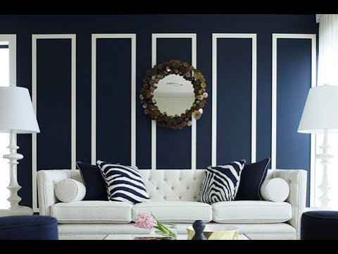 top-40-blue-home-decor-colors-ideas-tour-2018-|-best-wall-paint-combination-for-living-room-interior