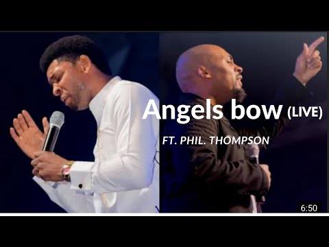 Steve Crown Ft. Phil Thompson ANGELS BOW (official Video) ~#FAITHISRISING ALBUM #YouAreYahweh #Phil