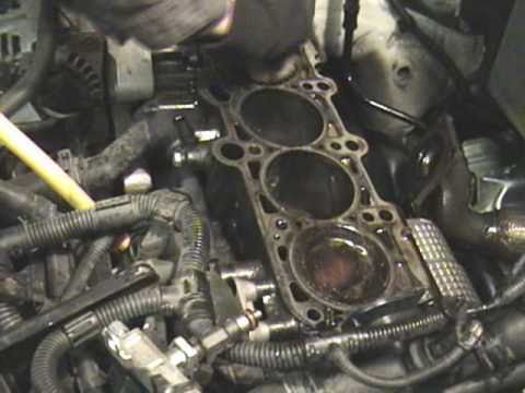 how to replace blown head gasket on a 2004 vw jetta 2 0l engine (part 2 of 2)  - youtube