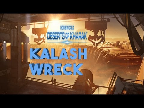 Homeworld Deserts Of Kharak - Kalash Wreck - Mission 5 - Gameplay - Let