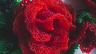 роза в технике ажурного плетения(Support us on Patreon or paypal: https://www.patreon.com/olgasbeads paypal: mrs.olga.cojocaru@gmail.com Для финансовой поддержки: ..., 2015-11-01T13:09:08.000Z)